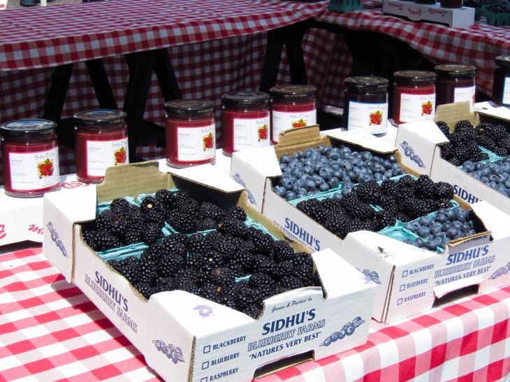 Berries at Seattle Public Market