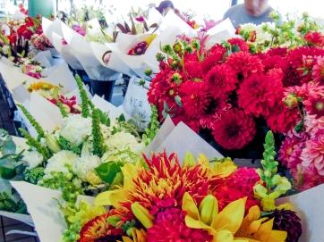 Flowers at Seattle Public Market