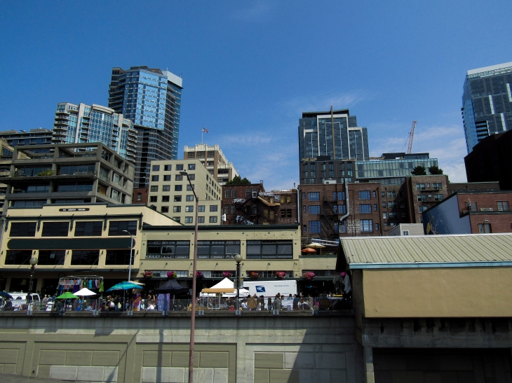 View from to Seattle Market